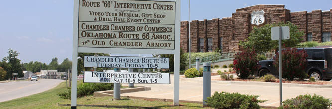 Route 66 Interpretive Center-Home of the Chandler Area Chamber of Commerce office