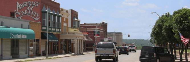 Downtown Chandler Oklahoma